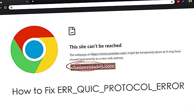 """Remediere: Eroare Google Chrome """"err_quic_protocol_error"""""""