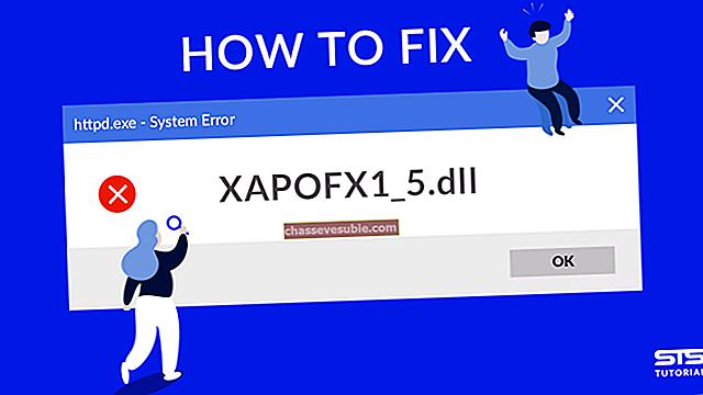 Cara Memperbaiki Kesalahan XAPOFX1_5.DLL