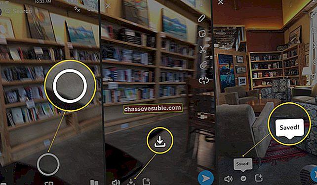 Cara Menyimpan Video di Snapchat