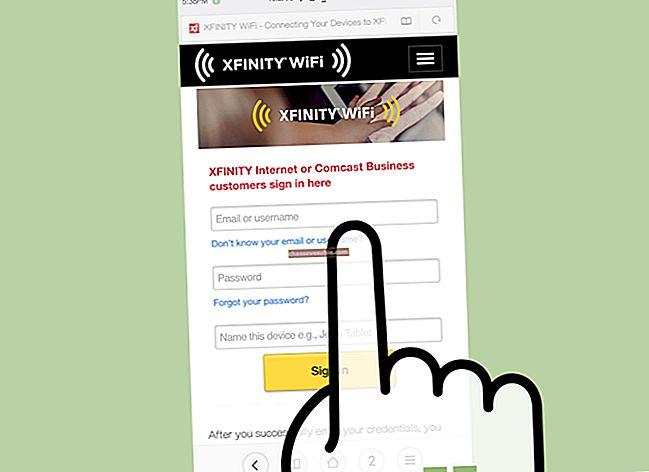 Cara Menonaktifkan Xfinity Wi-Fi di Mac