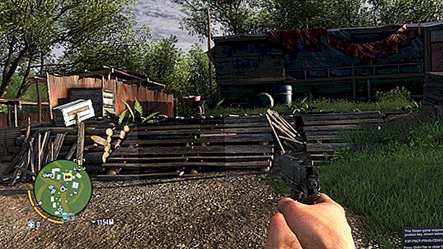 A Far Cry 5 hótalp hiba javítása