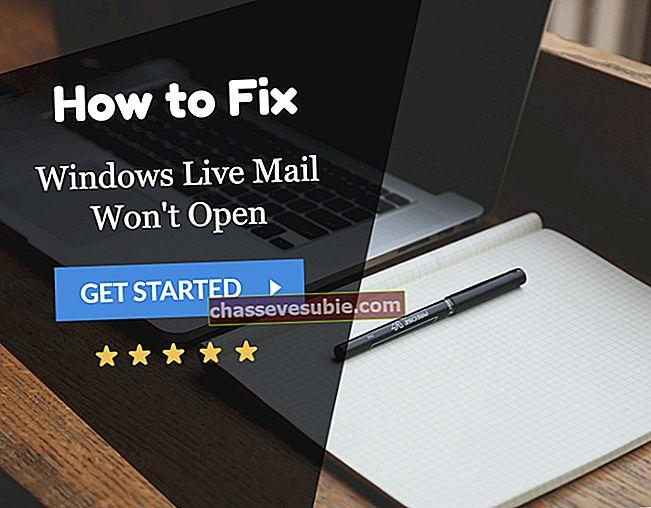 Betulkan: Ralat Windows Live Mail 0x800ccc0d