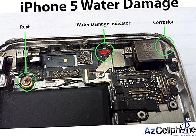 Hoe een door water beschadigde iPhone 5 te repareren