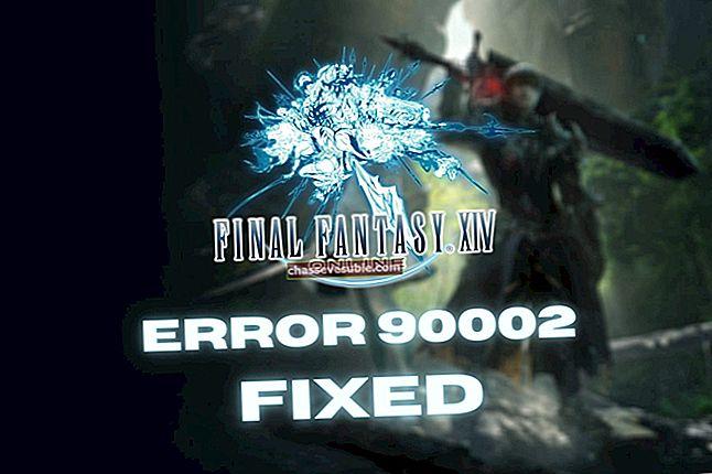 แก้ไข: FFXIV Error 5006