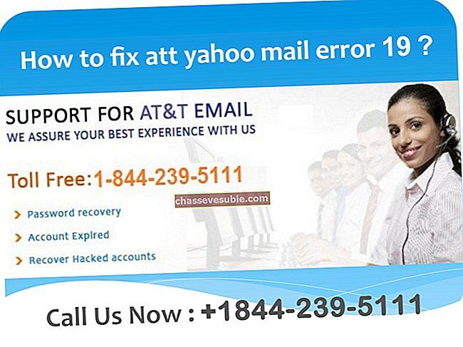 Hoe Yahoo of AT & T-fout 652314 te repareren