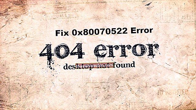 """Javítás: A """"0x80070522"""" ügyfél nem rendelkezik a szükséges jogosultságokkal"""