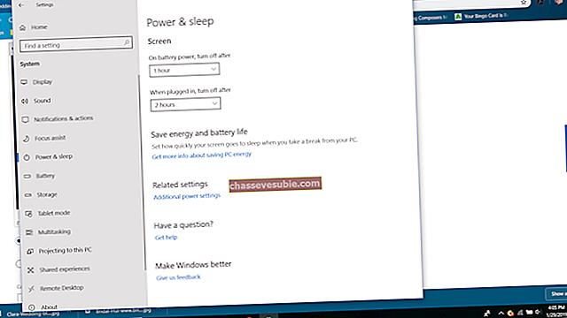 Oplossing: geen slaapoptie in het menu Power