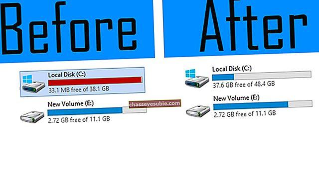 Remediere: Local Disk E Full pe Windows 10