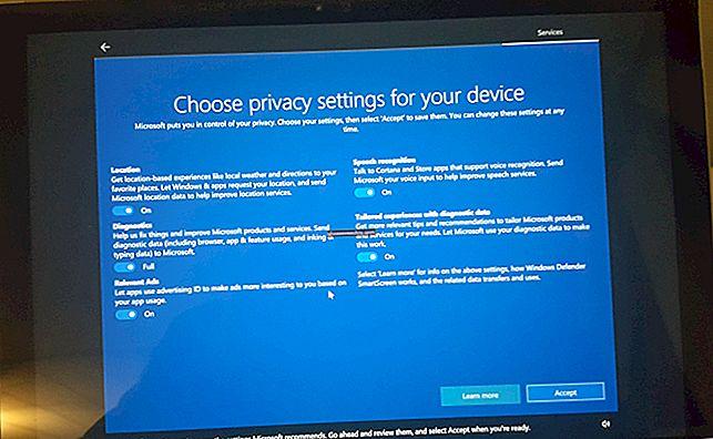 Windows 10 Creatorii actualizează setările de confidențialitate (KB4013214)